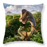 Ultrasaurus Throw Pillow