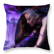 Ultraviolet Throw Pillow