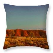 Uluru/ayers Rock Throw Pillow