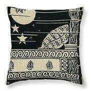 Ulysses 4 Throw Pillow
