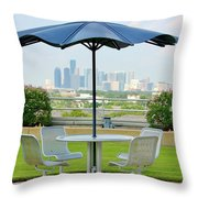 Umbrella Throw Pillow