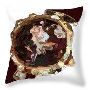 Umbria Florals Timepiece Throw Pillow