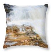 Umpachene Falls Throw Pillow