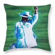 Umpiring Throw Pillow