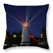 Umpqua Lighthouse Throw Pillow