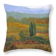 un altro pomeriggio in Toscana Throw Pillow
