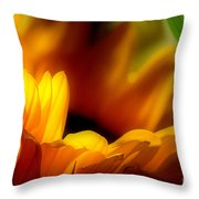 She Was An Unassuming Beauty Throw Pillow