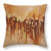 Unborn Souls Throw Pillow