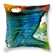 Uncharted Terrian Throw Pillow