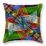 Unchartered Throw Pillow by Gwyn Newcombe