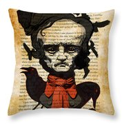 Uncle Ed Throw Pillow by Kyle Willis
