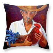 Uncle Frank 2 Throw Pillow