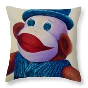 Uncle Frank Throw Pillow