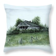 Uncle Luther's Home Throw Pillow