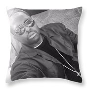 Uncle P Throw Pillow