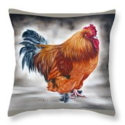 Uncle Samie's Rooster Throw Pillow