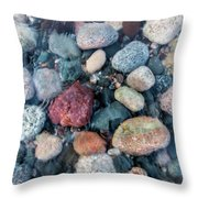 Unclouded  Throw Pillow