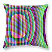 Uncollared Colors Three Throw Pillow