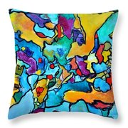Uncommon Feasts Throw Pillow by Chaline Ouellet