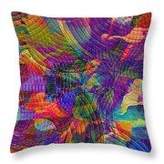 Uncommon Vibrations 2 Throw Pillow