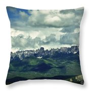 Uncompahgre Colorado Alpine Throw Pillow