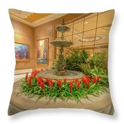 Uncompromising Elegance At The Broadmoor Throw Pillow