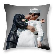 Unconditional Surrender 1 Throw Pillow