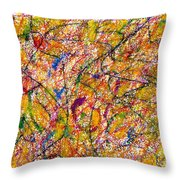 Unconstrained Throw Pillow