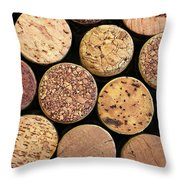 Uncorked Throw Pillow
