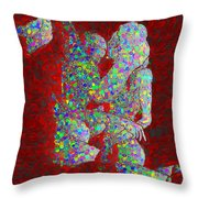 Uncovered Faces - Infinite Love Throw Pillow