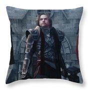 Undaunted Throw Pillow by Melissa Krauss