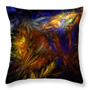 Undelivered Throw Pillow