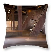 Under A Bridge Throw Pillow