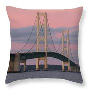 Under A Rose Colored Sky Throw Pillow