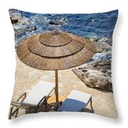 Under A Sun Throw Pillow