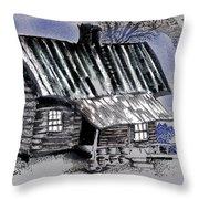 Under A Tin Roof Throw Pillow