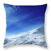 Under An Iridescent Sky Throw Pillow
