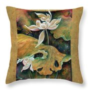 Under Cover Of Night - Under Care Of Stars Throw Pillow