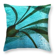 Under Currents   Detail  Throw Pillow