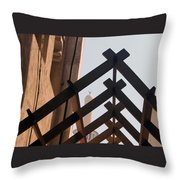 Under House Arrest Throw Pillow