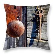 Under Lock And Key Throw Pillow