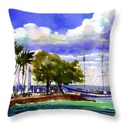 Under Maui Skies Throw Pillow