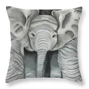 Under Mom Throw Pillow