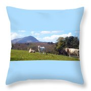 Under Muckish ,donegal  Throw Pillow