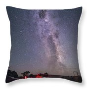 Under Southern Stars Throw Pillow
