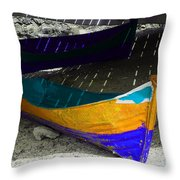 Under The Boardwalk 2 Throw Pillow