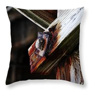 Under The Boardwalk Throw Pillow