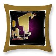 Under The Brooklyn Bridge, 1992 Throw Pillow