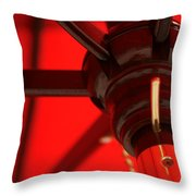 Under The Canopy Throw Pillow