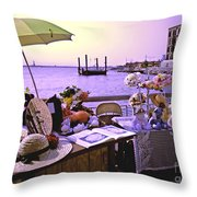 Under The Hat  Throw Pillow